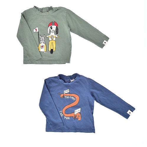 12-18M| ZARA | זוג חולצות בתנועה