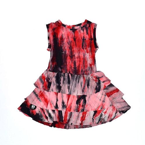 5Y   Suger & Spice   שמלת קומות משויישת
