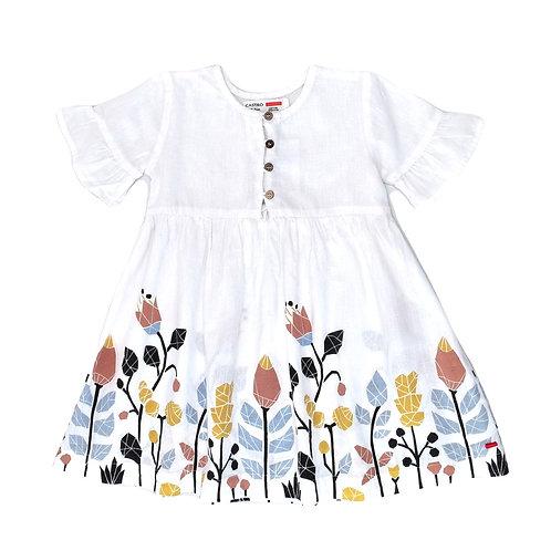 18-24M | CASTRO |  שמלת נטורל