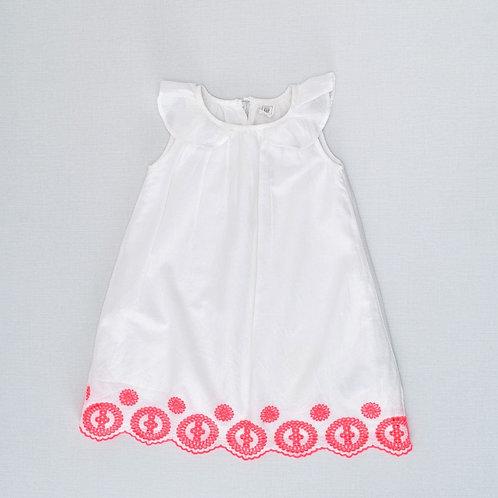 4Y | GAP | שמלת תחרה זרחנית