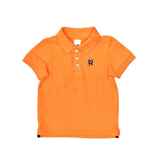 3-4Y   Palomino   חולצת פולו זרחנית