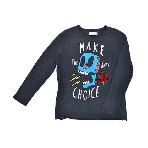 8Y | ZARA |  חולצה מטאל