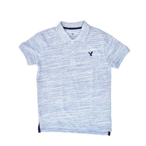 8-9Y | American Eagle | חולצה מלאנג בכחול
