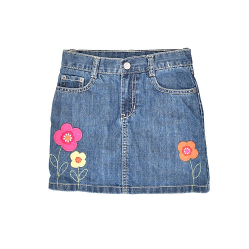 7Y | GEMBOREE | חצאית בג'ינס עם מכנסון