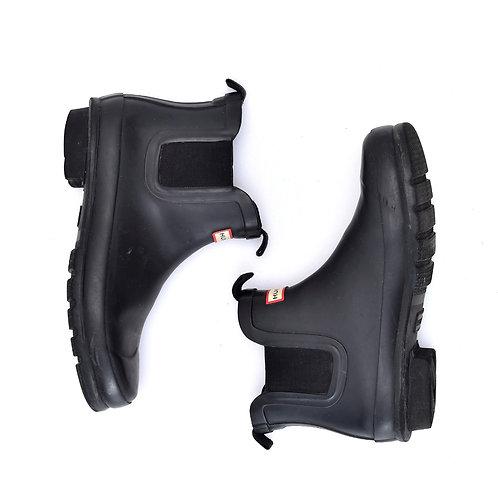 Size 34   HUNTER   מגפון גומי שחור