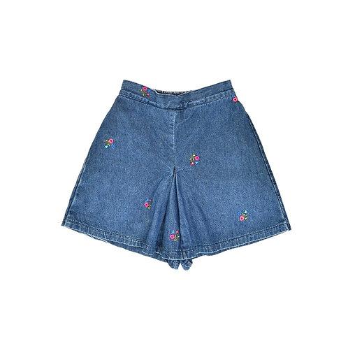 6-7Y   WKW   חצאית מכנס ג'ינס