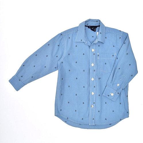 7-8Y | GAP | חולצת עוגן מכופתרת