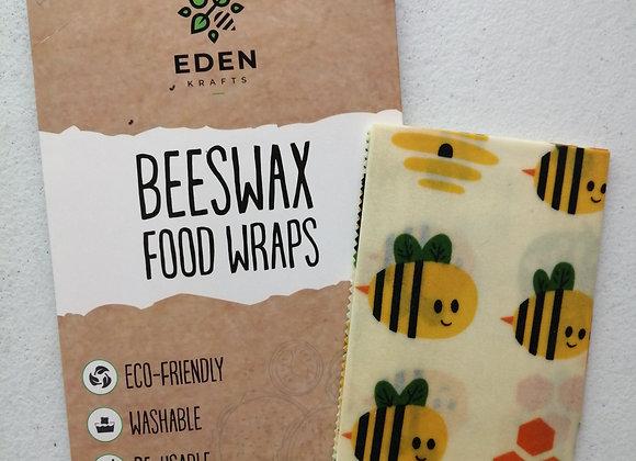 Paquete Envoltura para alimentos de Cera de Abeja