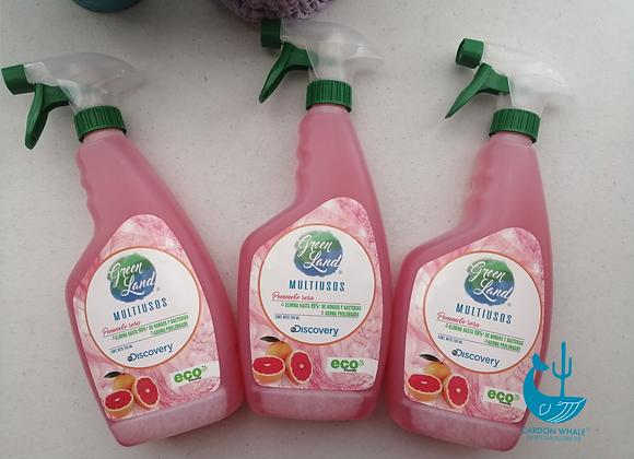 Limpiador desinfectante ecológico