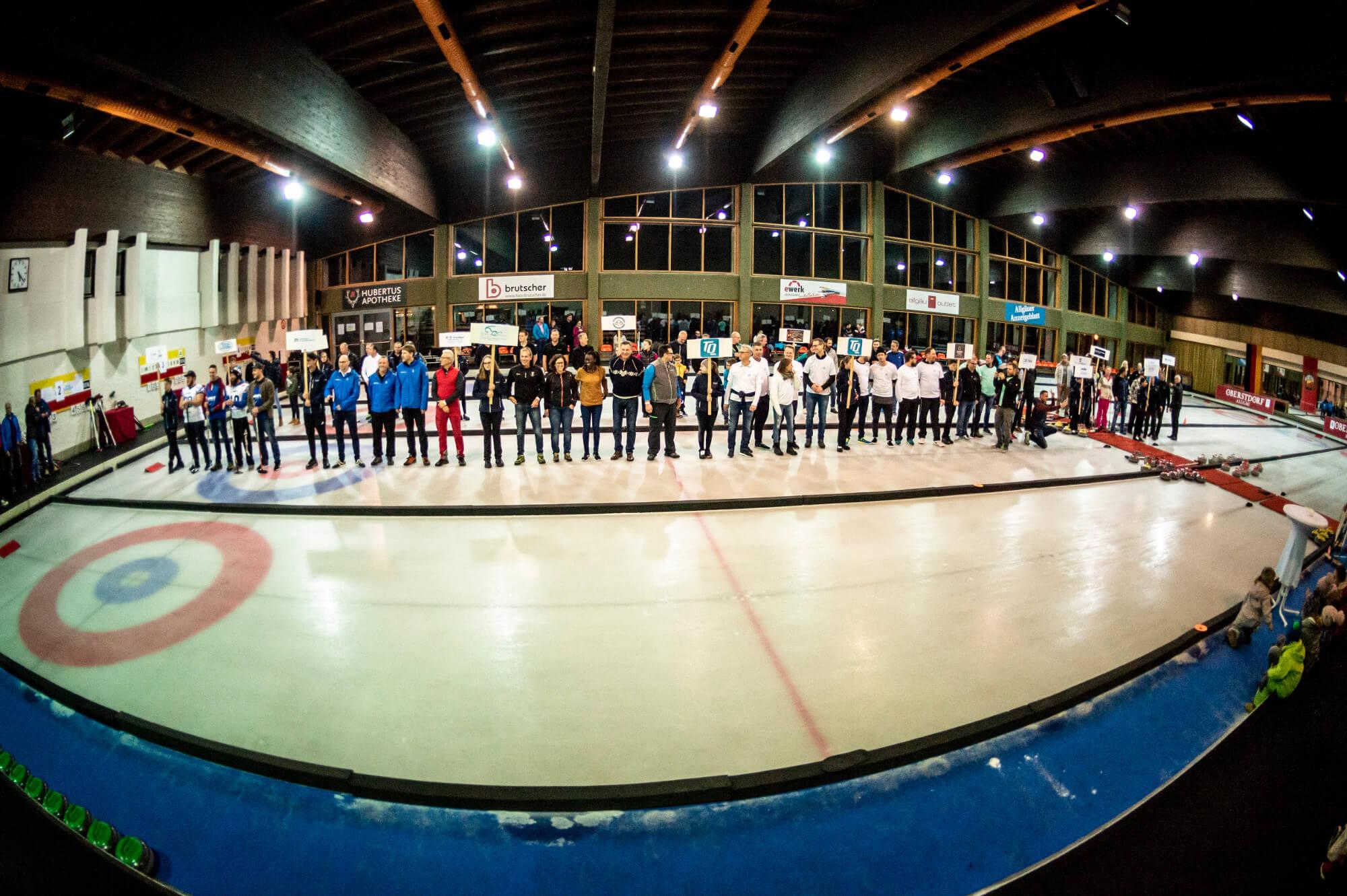 Teamaufstellung PNCC 2018