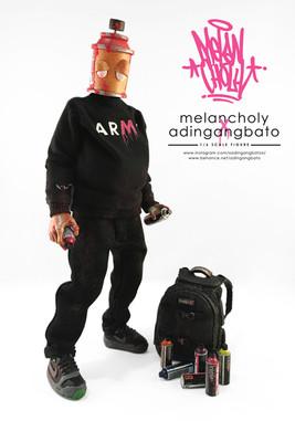 MelanCholy 1/6 scale figure