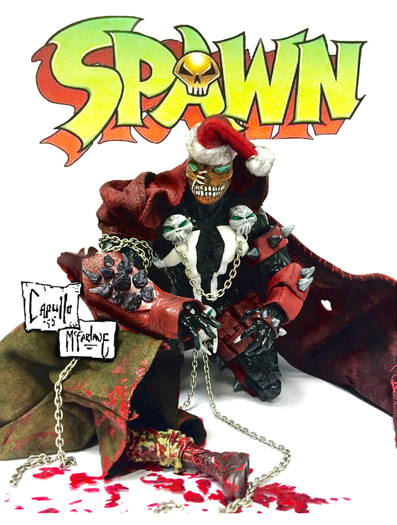 Spawn is a fictional character, an antihero that appears in a monthly comic book of the same name published by Image Comics. Created by Todd McFarlane, the character first appeared in Spawn #1 (May 1992). Spawn was ranked 60th on Wizard magazine's list of the Top 200 Comic Book Characters of All Time, 50th on Empiremagazine's list of The 50 Greatest Comic Book Characters and 36th on IGN's 2011 Top 100 Comic Book Heroes.  The series has spun off several other comics, including Angela, Curse of the Spawn, Sam & Twitch, and the Japanese manga Shadows of Spawn. Spawn was adapted into a 1997 feature film and portrayed by Michael Jai White, an HBO animated series lasting from 1997 until 1999, and a series of action figures whose high level of detail made McFarlane Toys known in the toy industry.The character also appears in annual compilations, mini-series specials written by guest authors and artists, and numerous cross-over story-lines in other comic books.