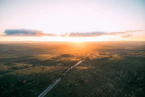 Sunset Drive Near Palmer, South Australia