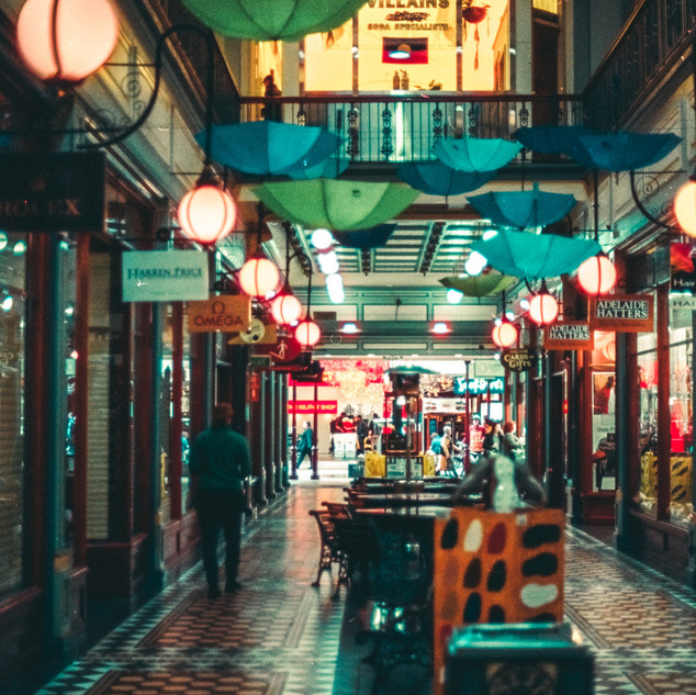 The Arcade at Rundle Mall