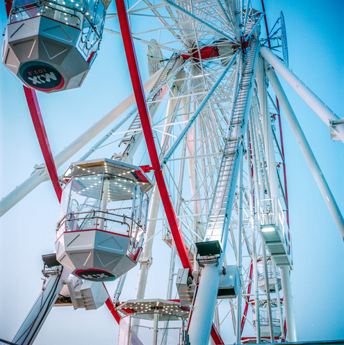 Ferris Wheel at Glenelg