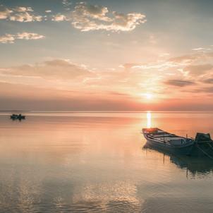 A Fishing Boat in Xiamen