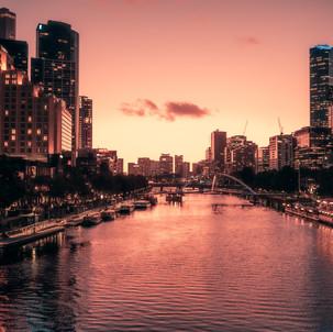 Yarra River in Melbourne