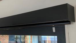 Valance black matt finish 100 mm