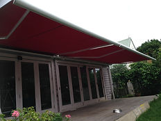 Retractable awnings full cassete