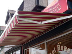 Retractable Awning manual option