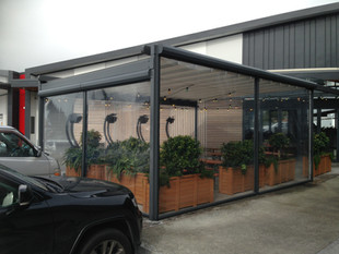 Ziptrak PVC screens