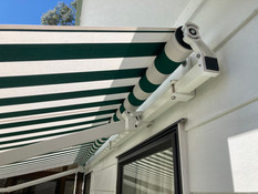 Ellipse retractable awning