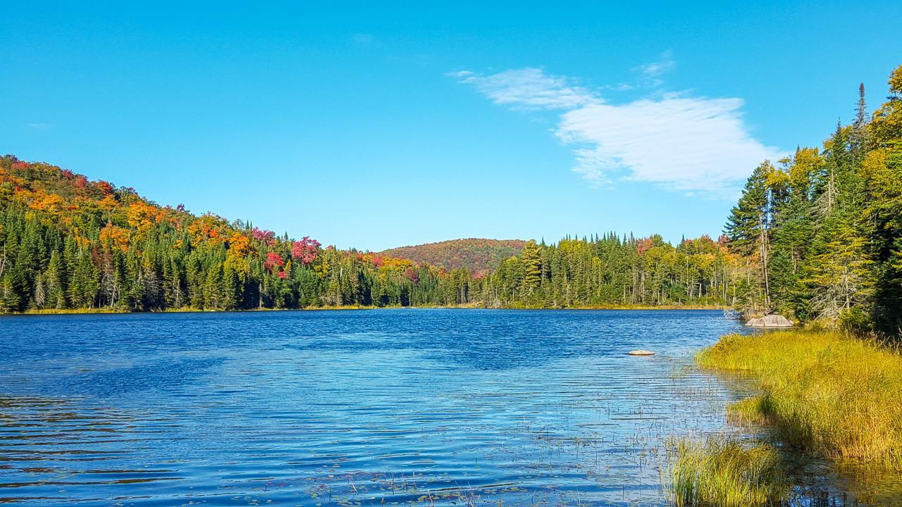 Le grand lac.