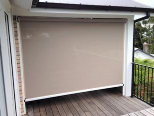 Ziptrak outdoor screen
