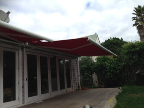 Full cassete motorised awnings