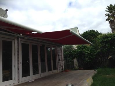 Full cassete motorised awnings