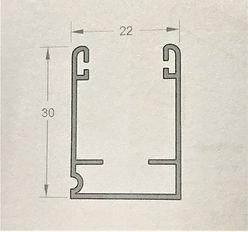 Top guide for retractable door