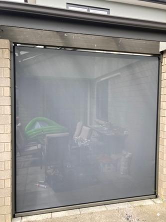 Ziptrak with Atmosphere mesh