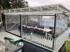 Urban track PVC screen