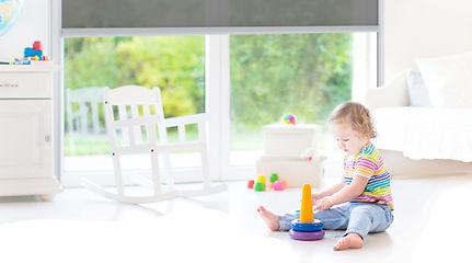 Interior Ziptrak child safety