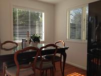 Wooden Venetian blinds white