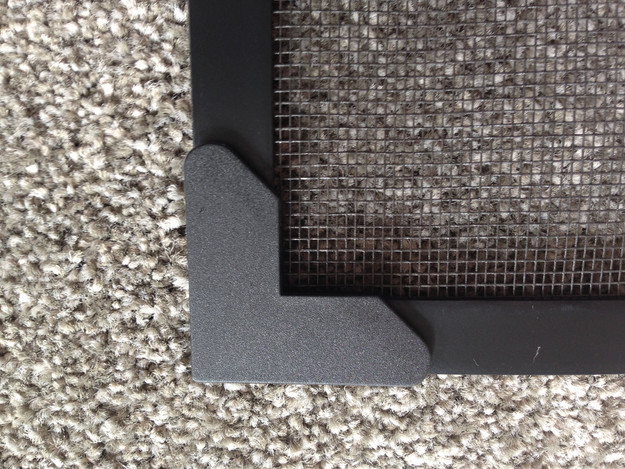 Magnetic insect scree black