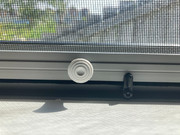 Top hinged insect screen window