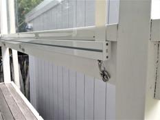 Omni screen PVC with gear box