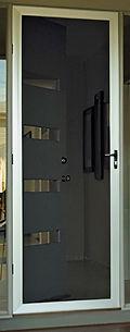 Supascreen hinged door