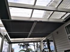 Skylight blinds, string system