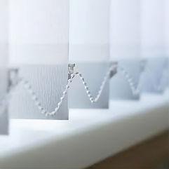 Vertical blinds detail