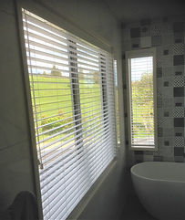 PVC Venetian blinds white in North Shore Auckland New Zealand