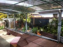 Outdoor screen roller PVC