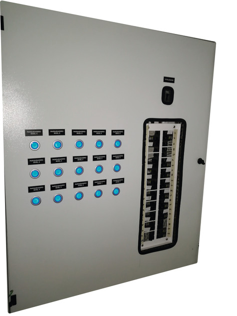 Gabinete control iluminación