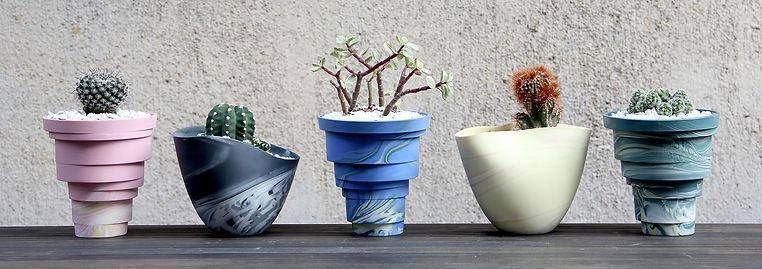 北川和喜 サボテンの鉢