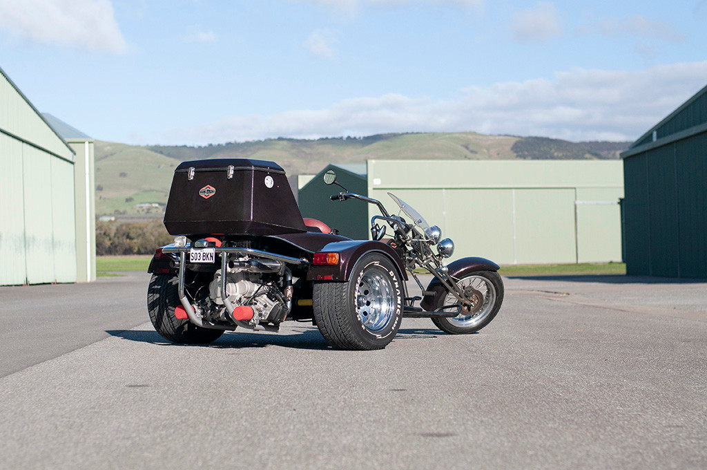 Trike at the airfield