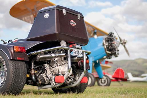 Radial trike and Stearman biplane.jpg