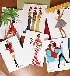 Beyoutifully Black African American Holiday Cards