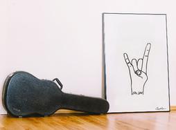 Rock On Print