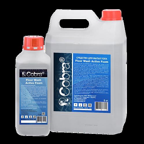 Floor Wash Active Foam средство для мытья полов (пенное)